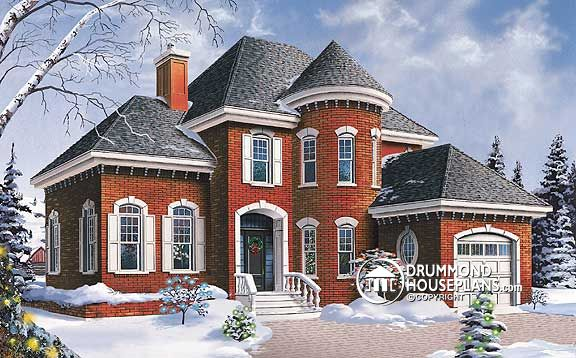 "House Plan of the Week: ""Grand Manor Features"""