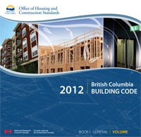 BC Building Codes – 2012