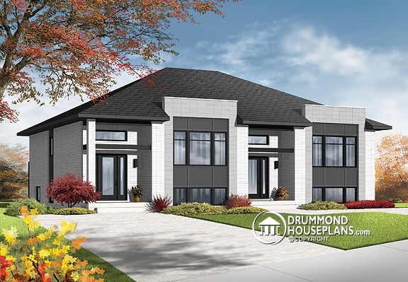 "Plan of the Week: ""Contemporary Investment Property With Floorplan Options"""