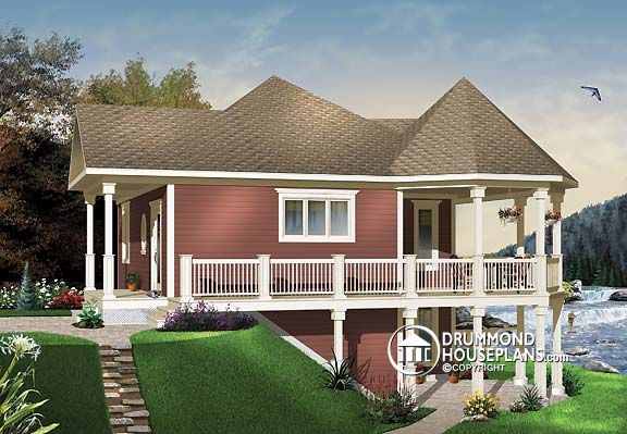 """House Plan of the Week: """"Chalet-Style House for """"Boomers"""""""