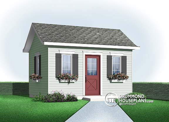 Permit requirements for storage sheds and outbuildings