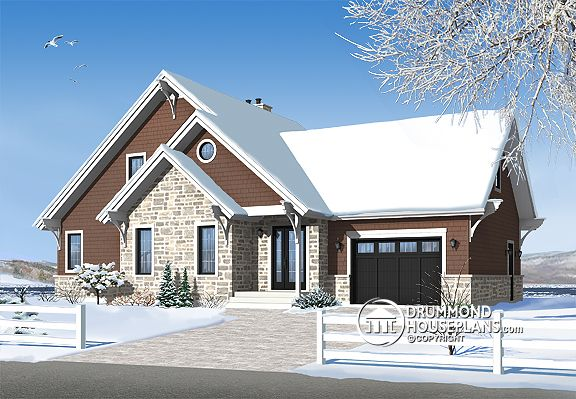 House Plan of the Week: New and Improved Favourite Chalet