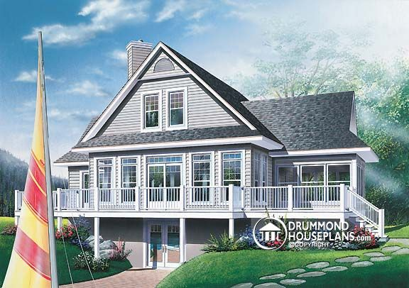 "House Plan of the Week: ""Soak in the Scenery!"""