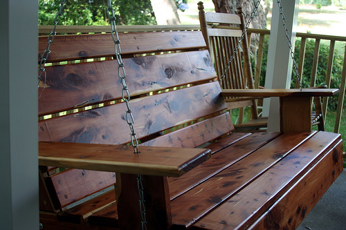 DIY Project – How to Install a Porch Swing