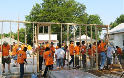 LED lighting expands to Habitat for Humanity homes