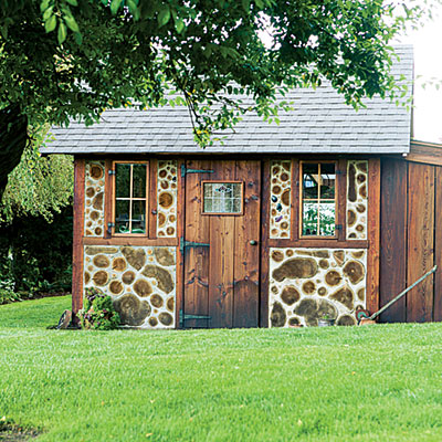 Step inside this fairy-tale garden shed