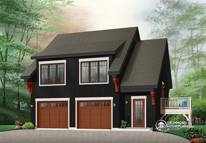Garage plans collection by Drummond House Plans