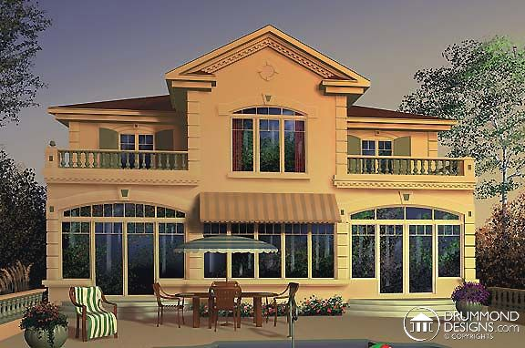 www.DrummondHousePlans.com Multigenerational House Plans #2821