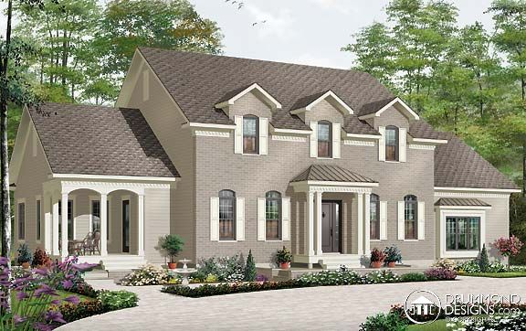 Drummond House Plans Multigenerational House Plans #3039