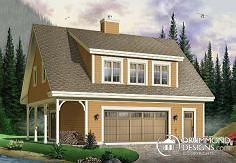 Garage Plan with Apartment / Mother-in-law Suite (Plan 3935) by www.DrummondHousePlans.com