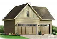 Garage Plan 3981 by www.DrummondHousePlans.com