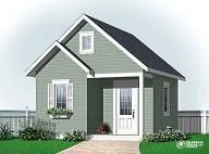Shed plan 2963-16 by www.DrummondHousePlans.com