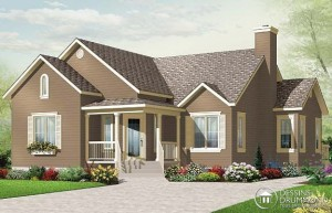Bungalow House Designs on Drummond House Plans    Home Plans