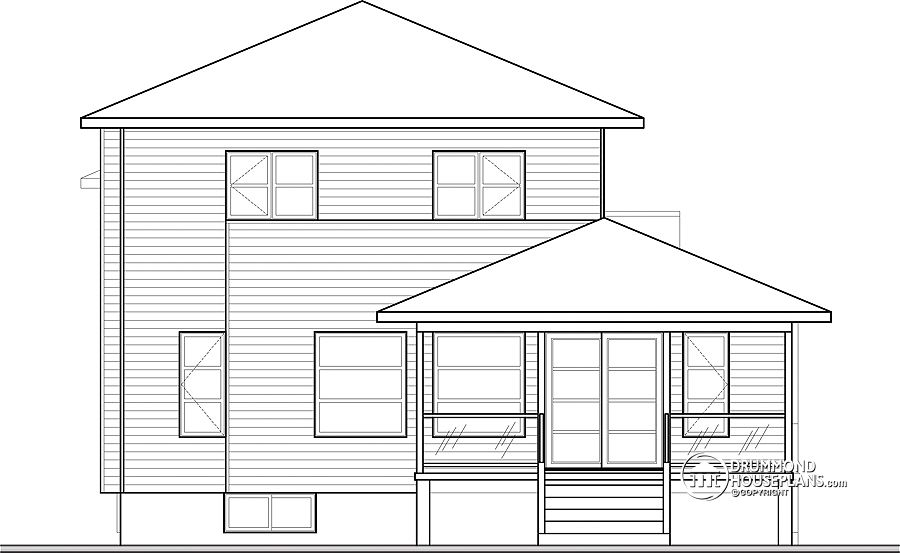 House Plans For Views To Front - Escortsea