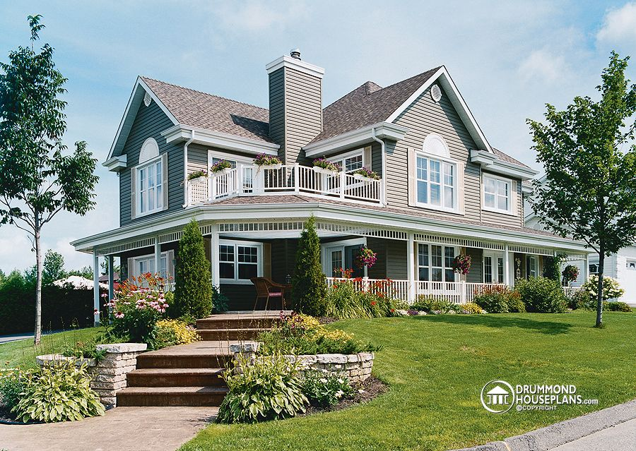 The perfect lakefront home for 4 bedroom country house plans