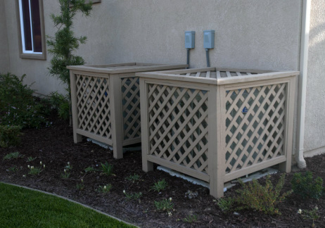Make your air conditioner fit drummond house plans blog for Air conditioning unit covers outside