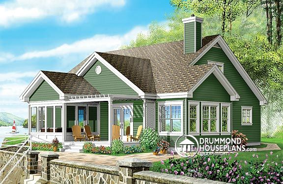 "House Plan of the Week: ""Your Own Personal Spa Retreat!"""