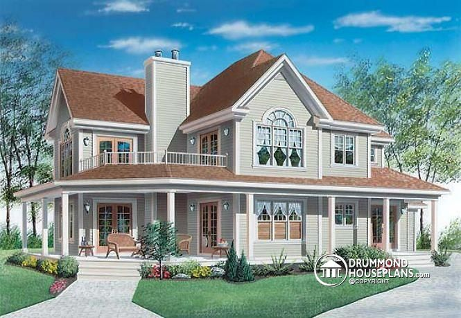 A timeless home with terraces drummond house plans blog for Timeless home design