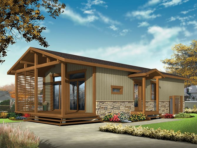 Tiny House With Versatility Drummond House Plans Blog