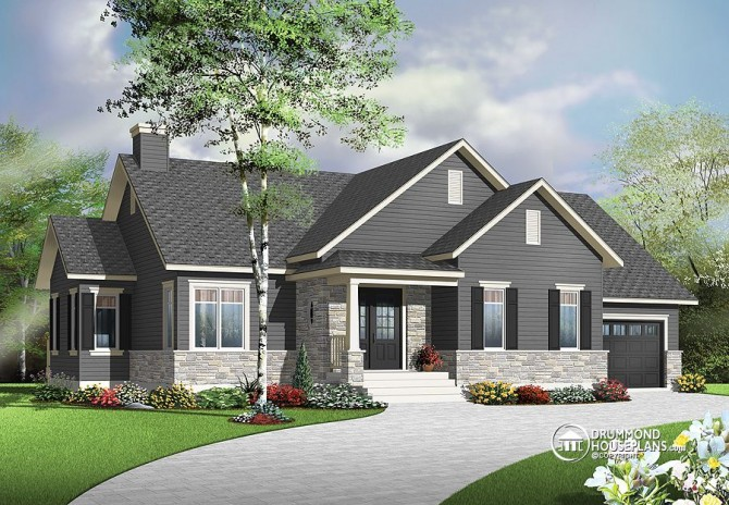 "Plan of the Week: ""Just Right""-Sized Bungalow"