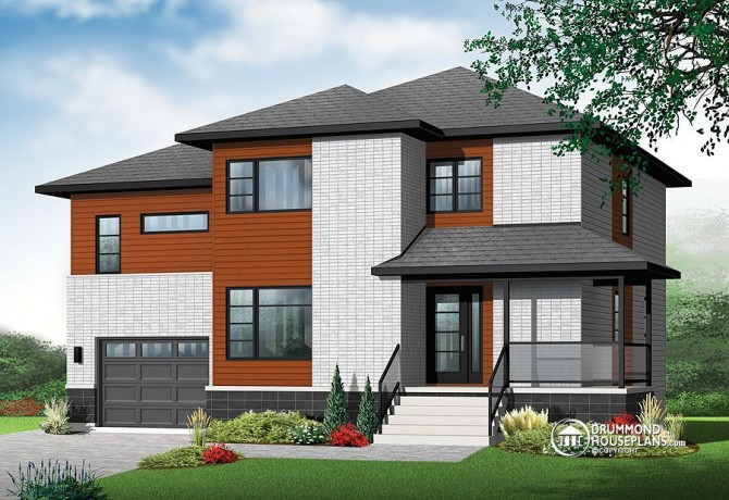family of four house plans. House Plan of the Week  Four Bedrooms and Upstairs Family Room