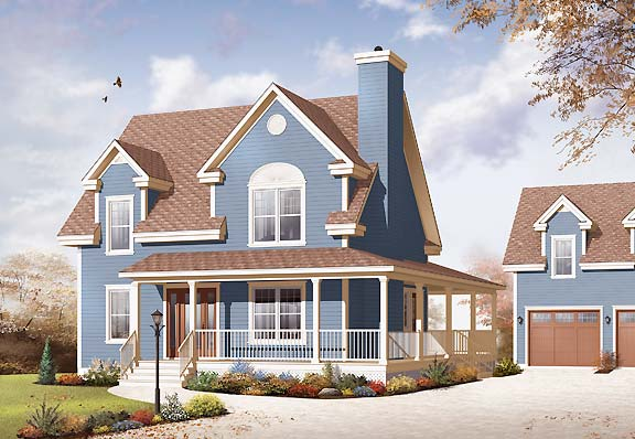 Building a great detached garage drummond house plans blog House plans with detached guest house
