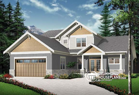 Plan of the week every comfort included drummond house plans blog Home design and comfort