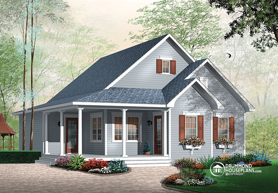 Attractive one storey drummond house plans blog for Drummond designs home plans