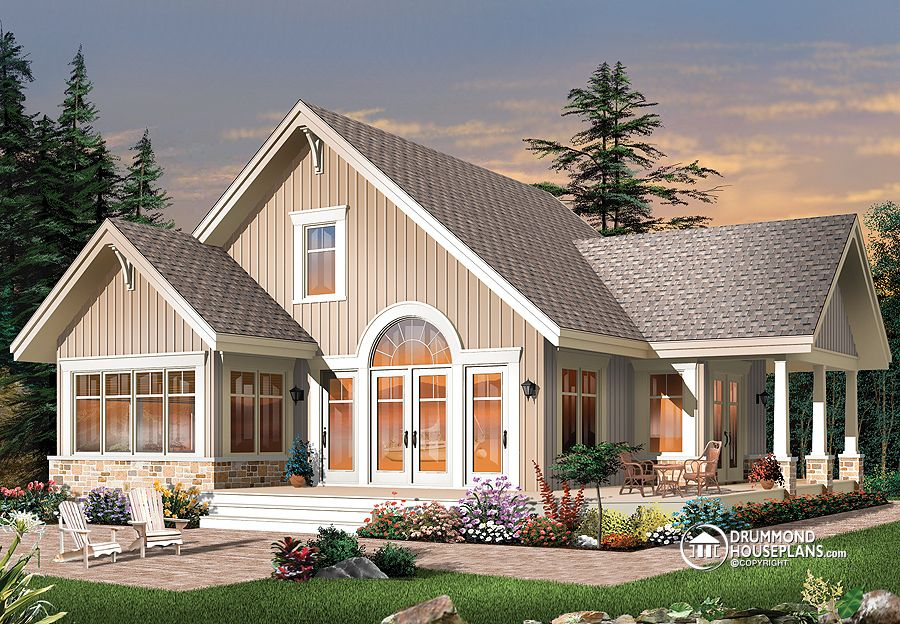 "House Plan of the Week: ""In Perfect Harmony With the Outdoors!"""