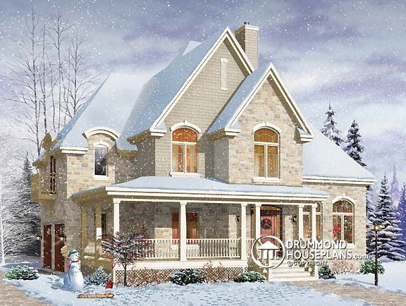 "House Plan of the Week: ""Impressive Formal Country Cottage"""