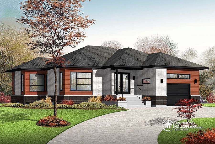"House Plan of the Week: ""Calm and Comfortable Contemporary ..."