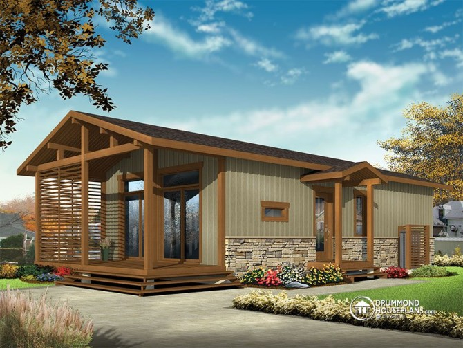 NEW – Small & Tiny home designs by Drummond House Plans