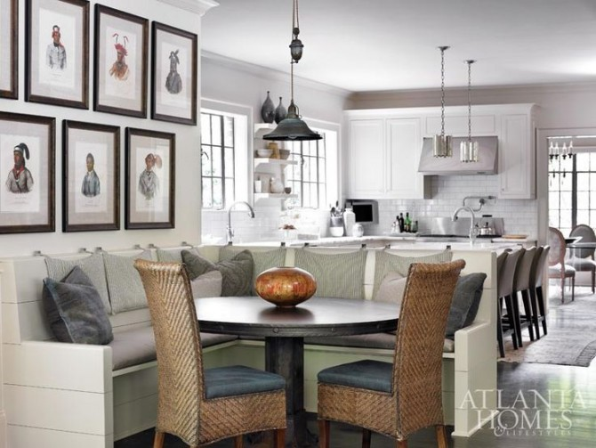 Brilliant ideas with banquette seating