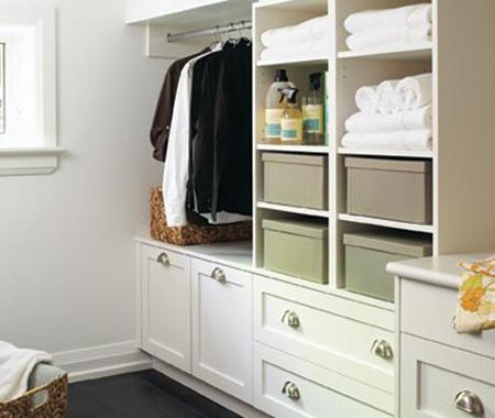 Smart Storage – Get organized with built-ins and more