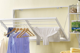 DIY Project: Create a Wall-hanging Clothes Rack