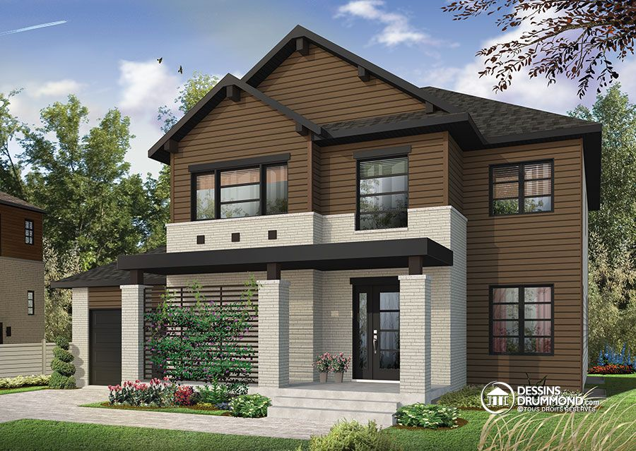 Modern rustic home archives drummond house plans blog for Modern rustic home plans