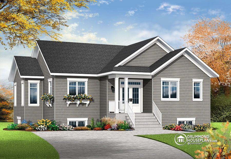 4 bedroom house plan by Drummond House Plans