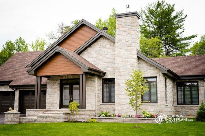 Modern Rustic Home Archives - Drummond House Plans Blog